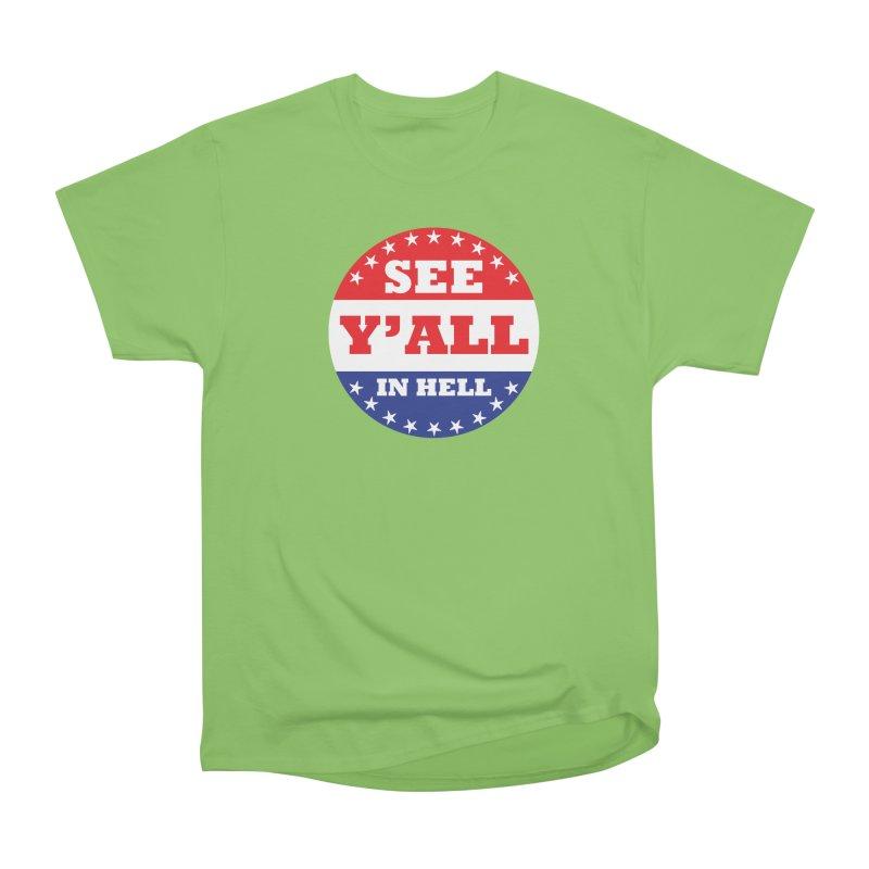 I VOTED I GUESS Women's Heavyweight Unisex T-Shirt by Wander Lane Threadless Shop
