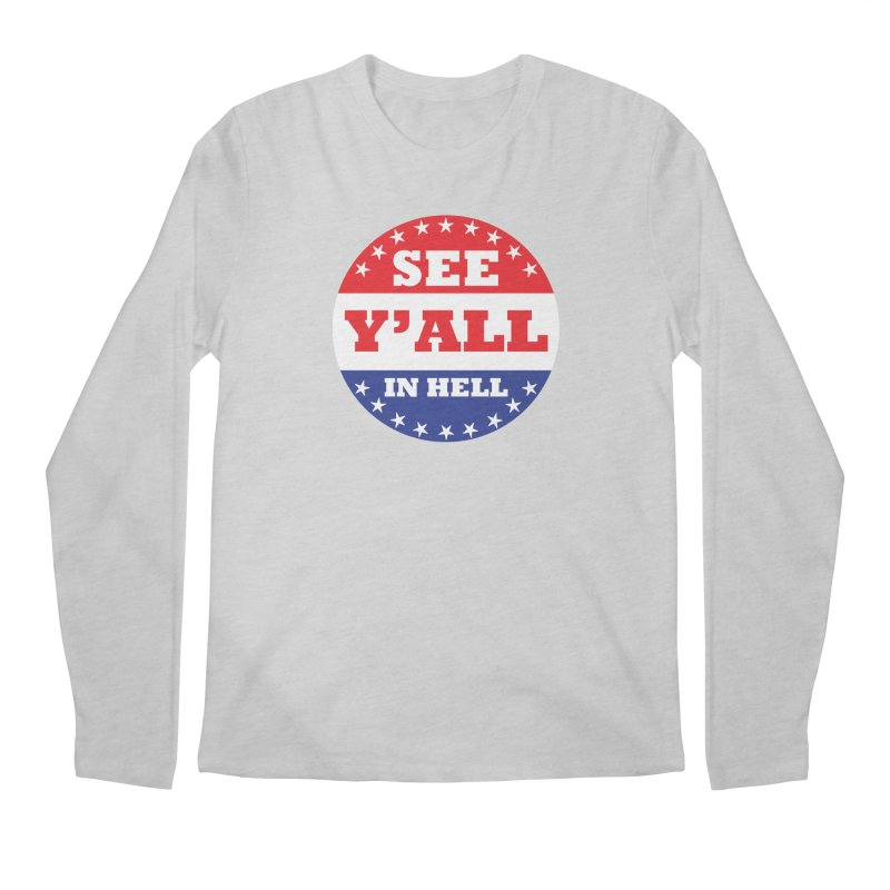 I VOTED I GUESS Men's Regular Longsleeve T-Shirt by Wander Lane Threadless Shop