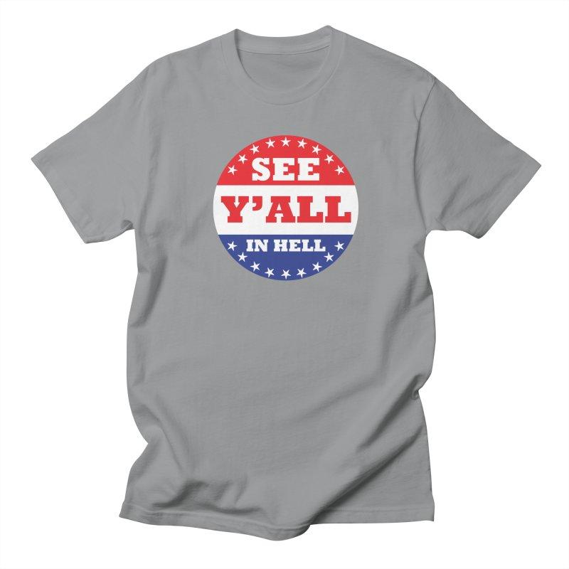 I VOTED I GUESS Women's Regular Unisex T-Shirt by Wander Lane Threadless Shop