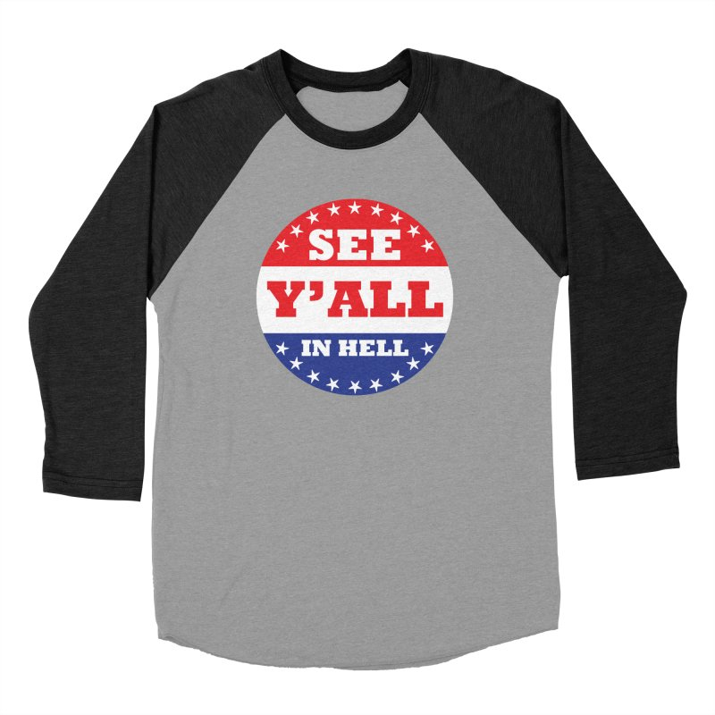 I VOTED I GUESS Men's Baseball Triblend Longsleeve T-Shirt by Wander Lane Threadless Shop