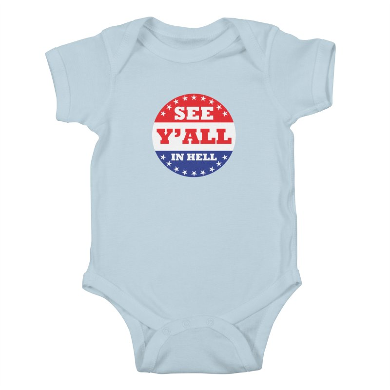 I VOTED I GUESS Kids Baby Bodysuit by Wander Lane Threadless Shop