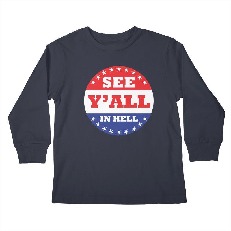 I VOTED I GUESS Kids Longsleeve T-Shirt by Wander Lane Threadless Shop