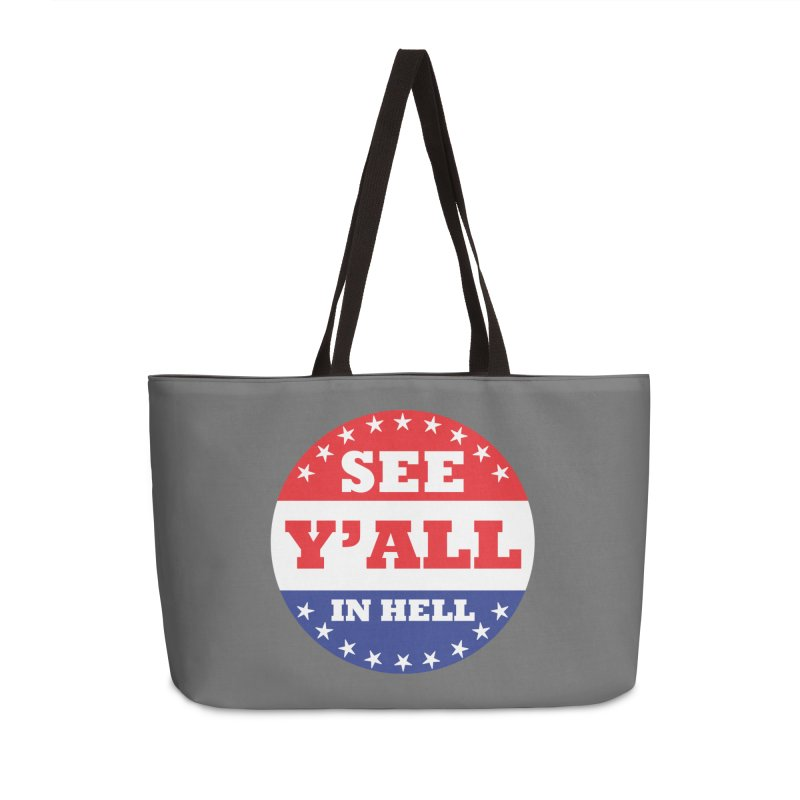 I VOTED I GUESS Accessories Weekender Bag Bag by Wander Lane Threadless Shop