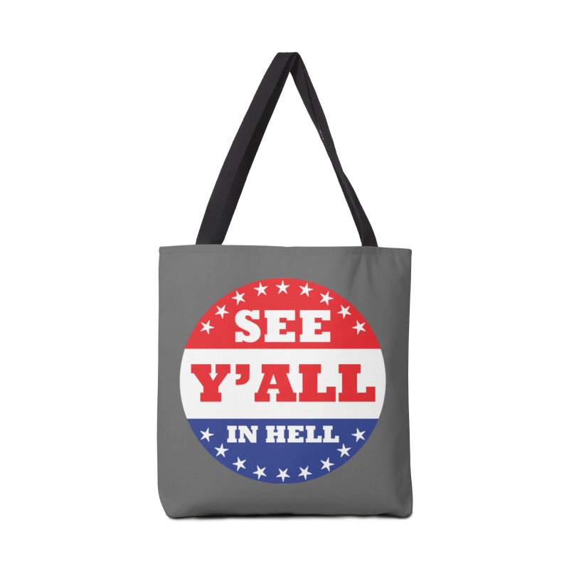 I VOTED I GUESS Accessories Tote Bag Bag by Wander Lane Threadless Shop