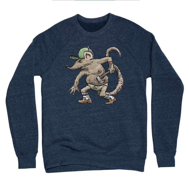 Axe to Grind Men's Sponge Fleece Sweatshirt by Wander Lane Threadless Shop