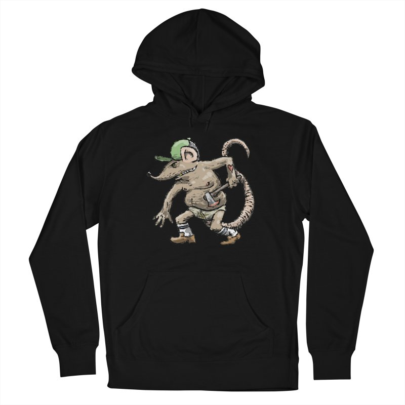 Axe to Grind Women's French Terry Pullover Hoody by Wander Lane Threadless Shop