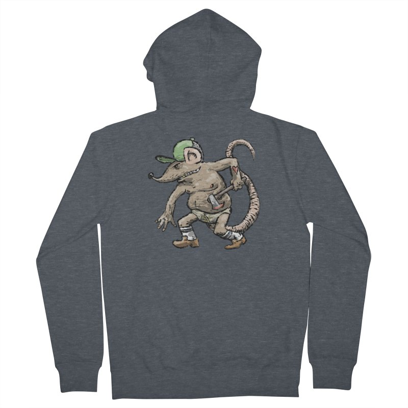 Axe to Grind Men's French Terry Zip-Up Hoody by Wander Lane Threadless Shop