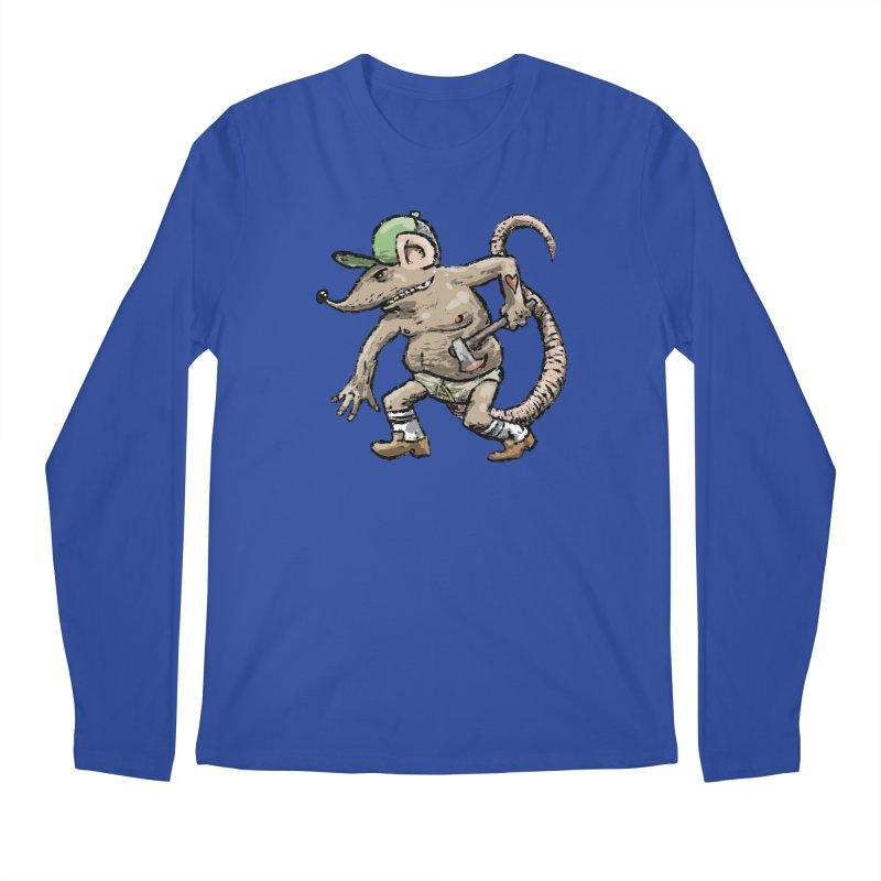 Axe to Grind Men's Regular Longsleeve T-Shirt by Wander Lane Threadless Shop