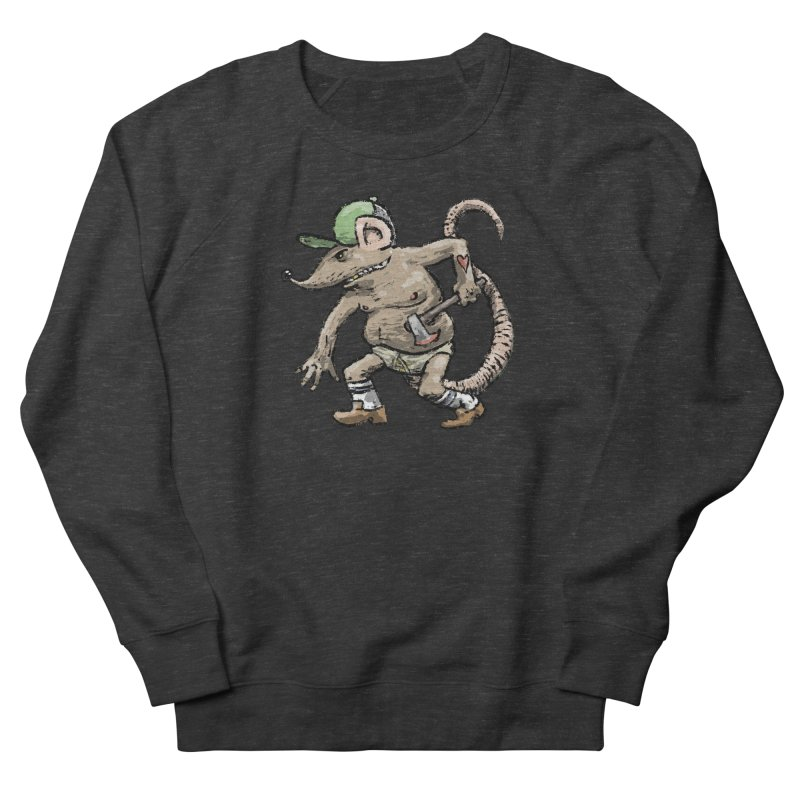 Axe to Grind Men's French Terry Sweatshirt by Wander Lane Threadless Shop