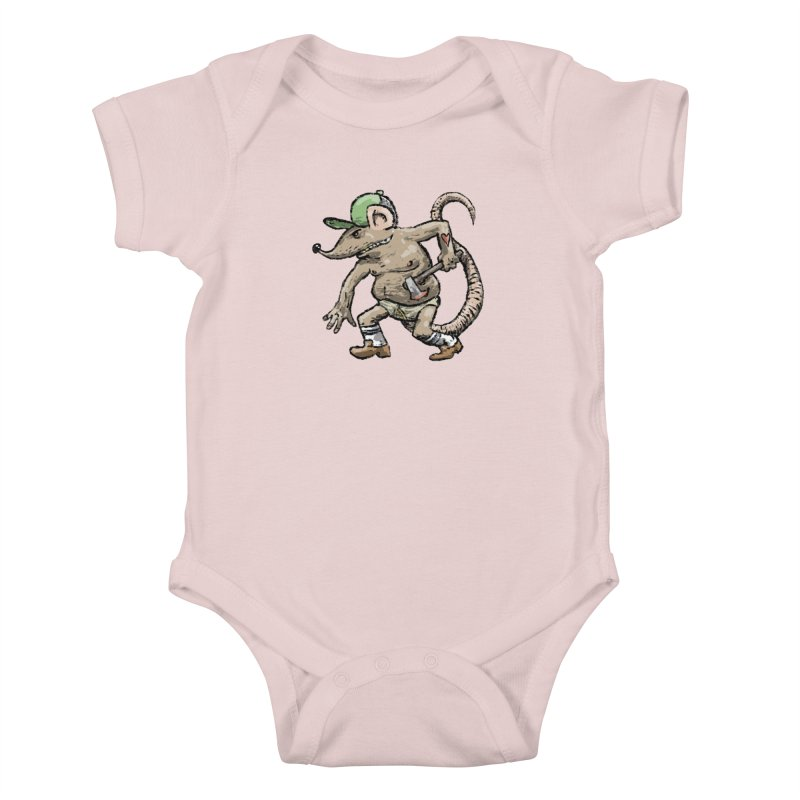 Axe to Grind Kids Baby Bodysuit by Wander Lane Threadless Shop