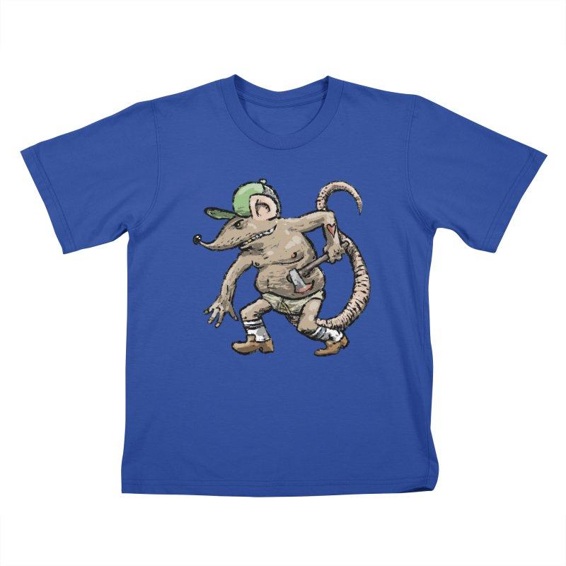 Axe to Grind Kids T-Shirt by Wander Lane Threadless Shop