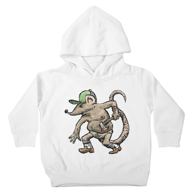 Axe to Grind Kids Toddler Pullover Hoody by Wander Lane Threadless Shop