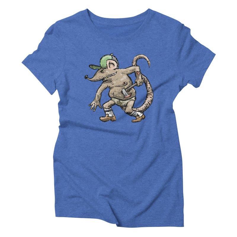 Axe to Grind Women's Triblend T-Shirt by Wander Lane Threadless Shop