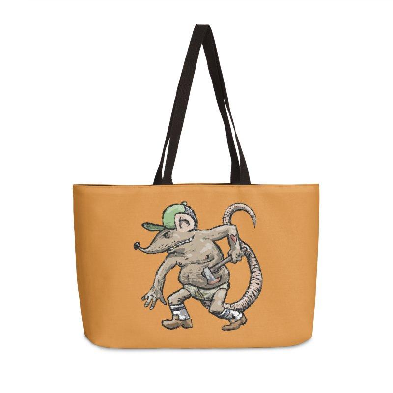 Axe to Grind Accessories Weekender Bag Bag by Wander Lane Threadless Shop