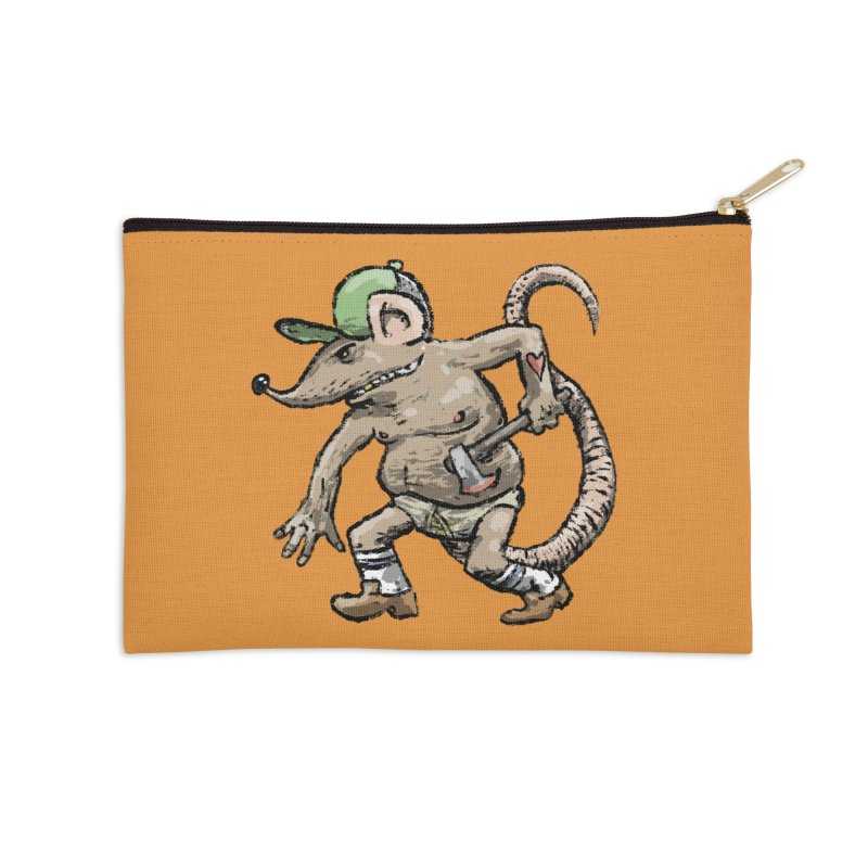 Axe to Grind Accessories Zip Pouch by Wander Lane Threadless Shop
