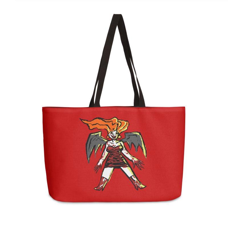 Draculaura Accessories Weekender Bag Bag by Wander Lane Threadless Shop