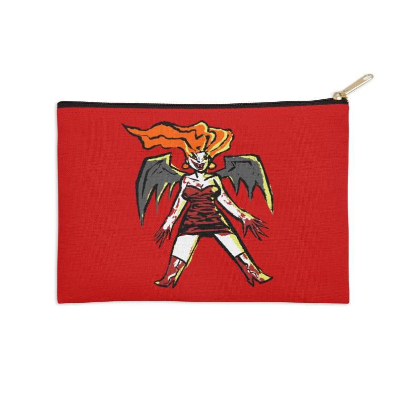Draculaura Accessories Zip Pouch by Wander Lane Threadless Shop