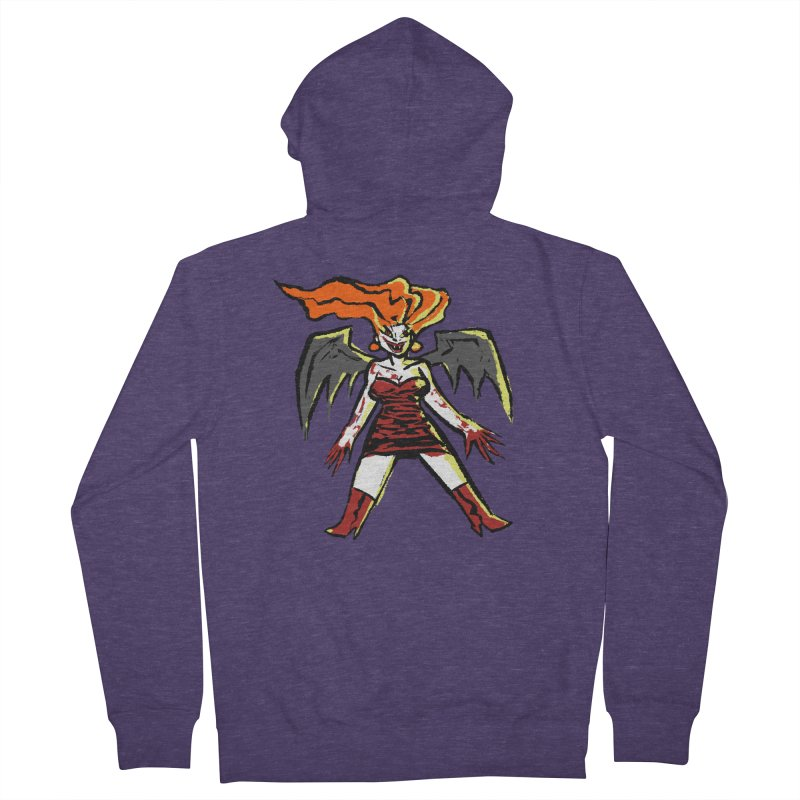 Draculaura Men's French Terry Zip-Up Hoody by Wander Lane Threadless Shop