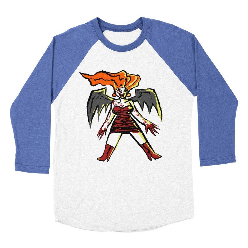 Draculaura Women's Baseball Triblend Longsleeve T-Shirt by Wander Lane Threadless Shop