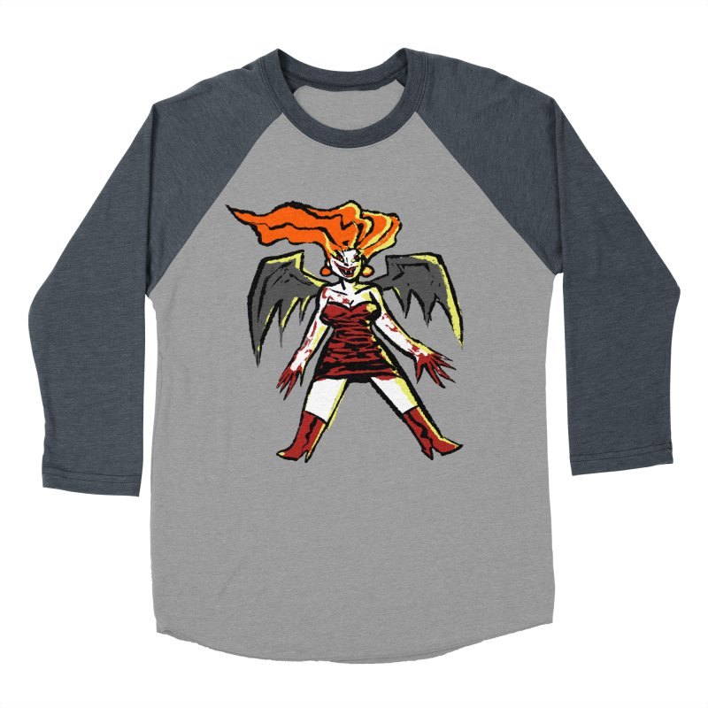 Draculaura Men's Baseball Triblend Longsleeve T-Shirt by Wander Lane Threadless Shop