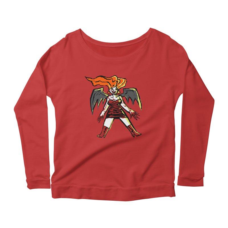 Draculaura Women's Scoop Neck Longsleeve T-Shirt by Wander Lane Threadless Shop