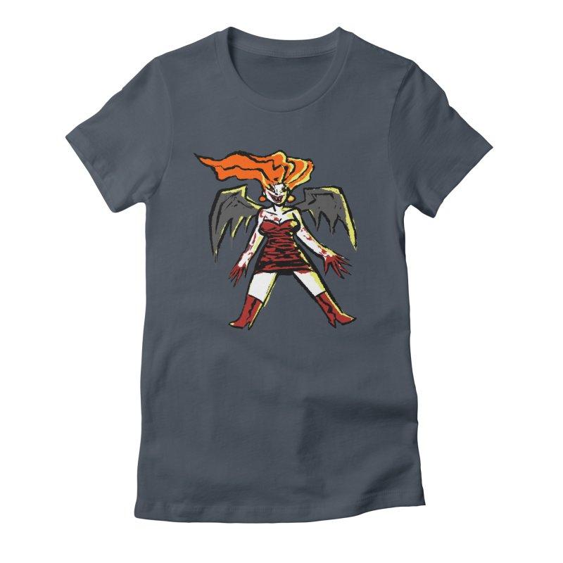 Draculaura Women's Fitted T-Shirt by Wander Lane Threadless Shop