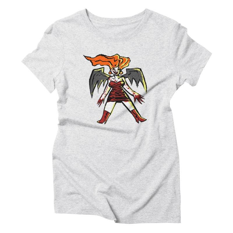 Draculaura Women's Triblend T-Shirt by Wander Lane Threadless Shop