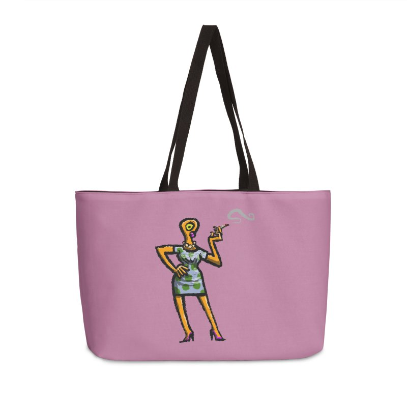The Girl in Apartment 1I Accessories Weekender Bag Bag by Wander Lane Threadless Shop