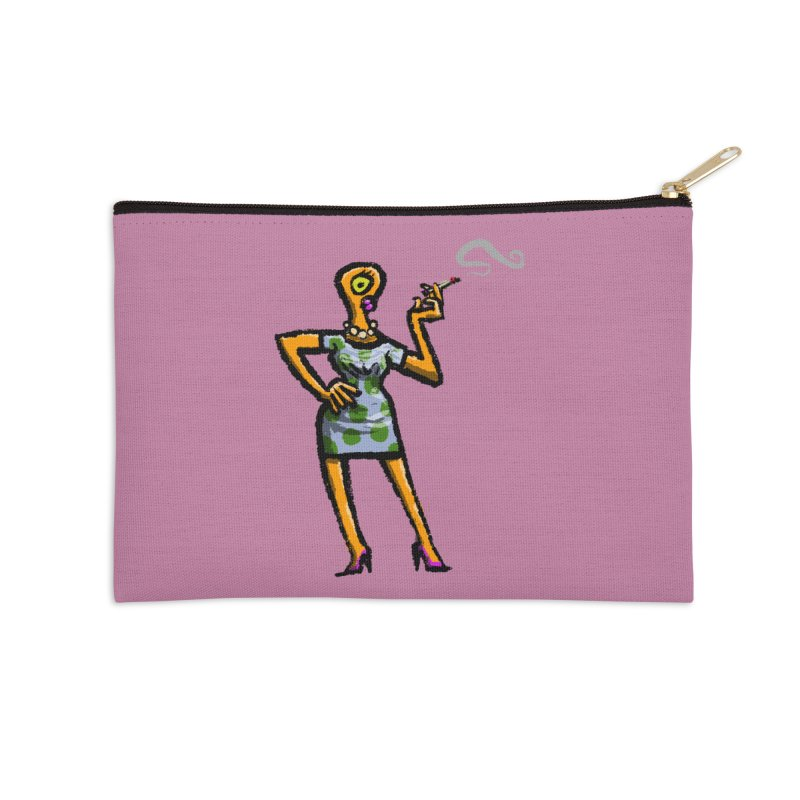 The Girl in Apartment 1I Accessories Zip Pouch by Wander Lane Threadless Shop