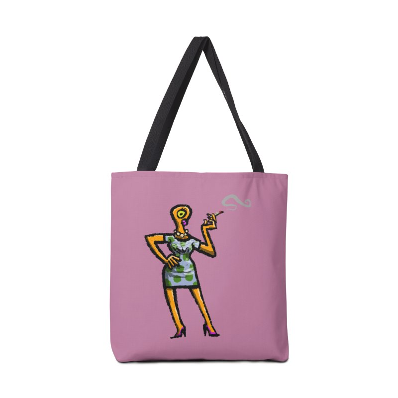The Girl in Apartment 1I Accessories Tote Bag Bag by Wander Lane Threadless Shop