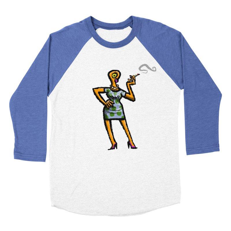 The Girl in Apartment 1I Men's Baseball Triblend Longsleeve T-Shirt by Wander Lane Threadless Shop