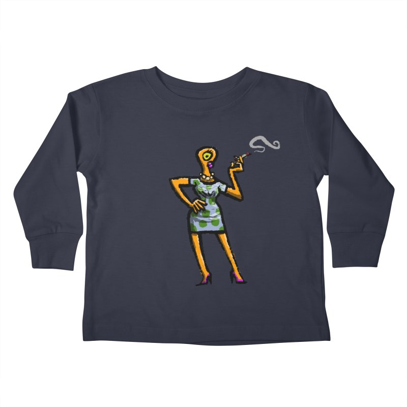 The Girl in Apartment 1I Kids Toddler Longsleeve T-Shirt by Wander Lane Threadless Shop