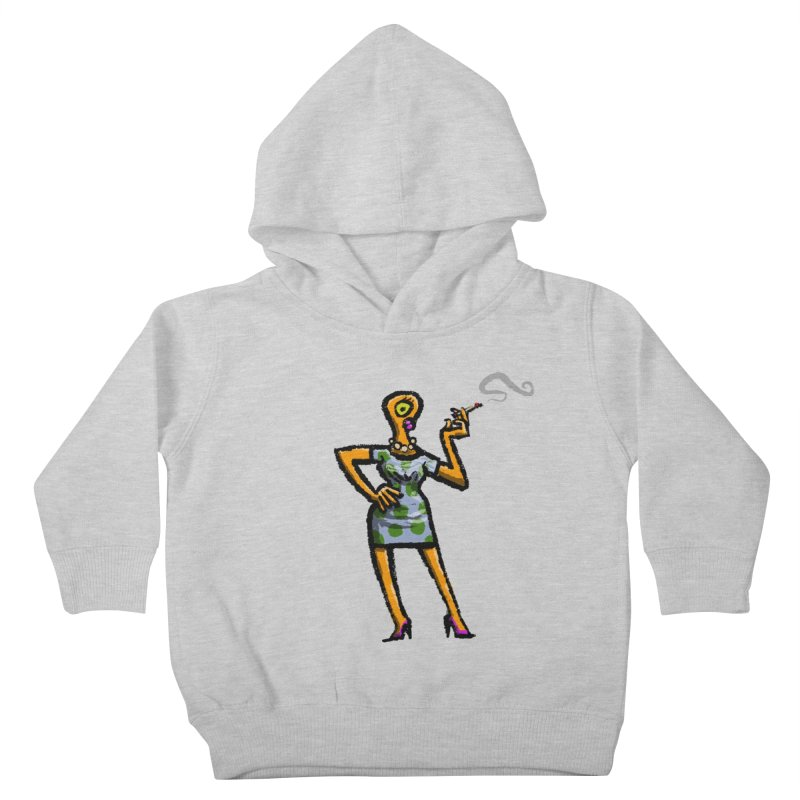 The Girl in Apartment 1I Kids Toddler Pullover Hoody by Wander Lane Threadless Shop