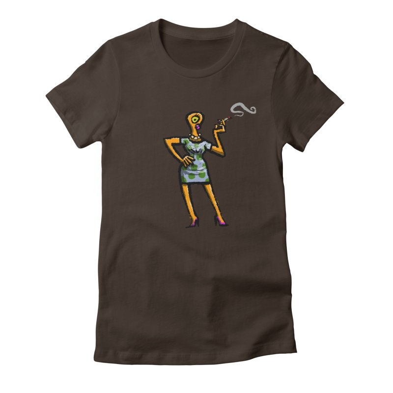 The Girl in Apartment 1I Women's Fitted T-Shirt by Wander Lane Threadless Shop