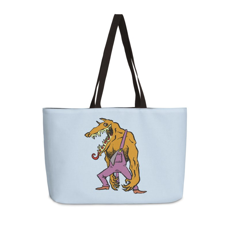 Over Therewolf Accessories Weekender Bag Bag by Wander Lane Threadless Shop