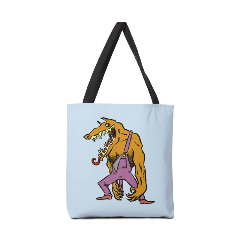 Over Therewolf Accessories Tote Bag Bag by Wander Lane Threadless Shop