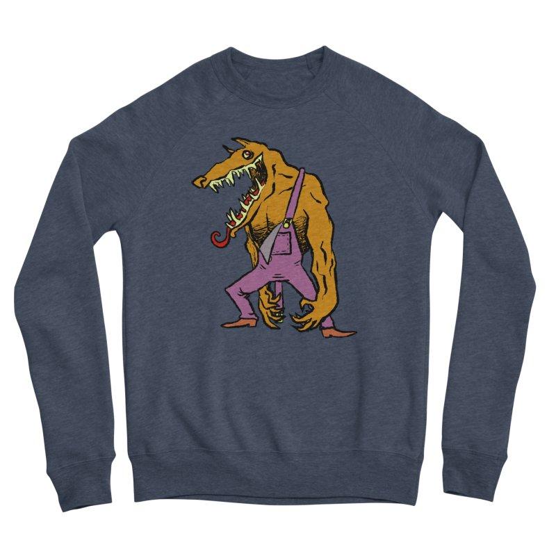 Over Therewolf Women's Sponge Fleece Sweatshirt by Wander Lane Threadless Shop
