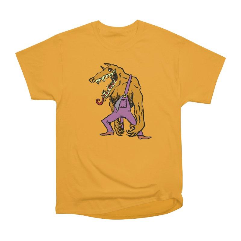 Over Therewolf Women's Heavyweight Unisex T-Shirt by Wander Lane Threadless Shop