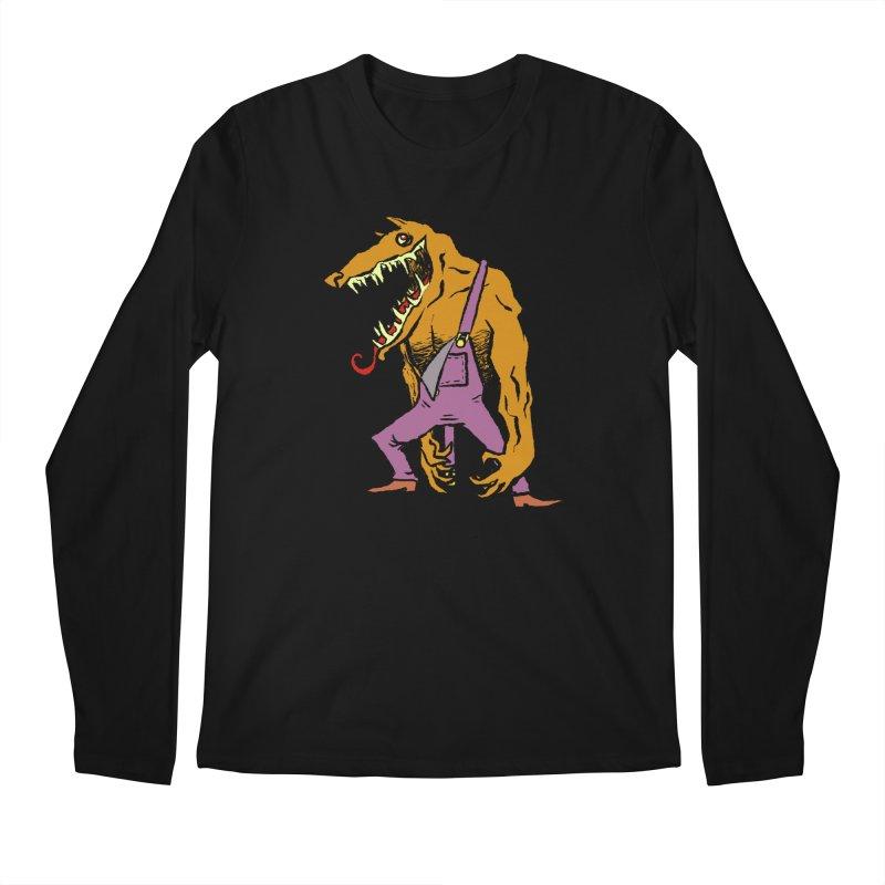 Over Therewolf Men's Regular Longsleeve T-Shirt by Wander Lane Threadless Shop