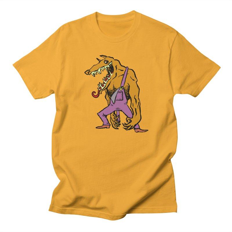 Over Therewolf Men's Regular T-Shirt by Wander Lane Threadless Shop