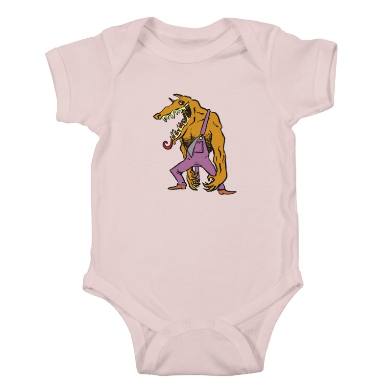 Over Therewolf Kids Baby Bodysuit by Wander Lane Threadless Shop