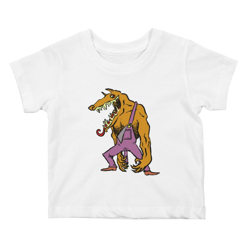 Over Therewolf Kids Baby T-Shirt by Wander Lane Threadless Shop