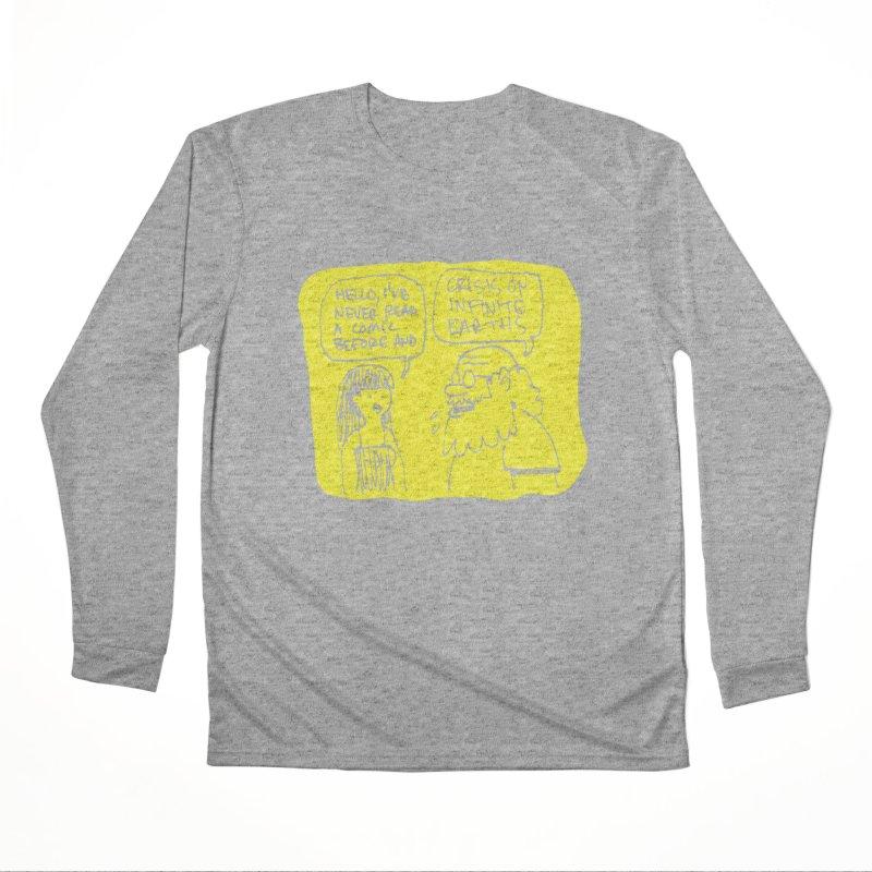 CRISIS ON INFINITE EARTHS #2 Men's Performance Longsleeve T-Shirt by Wander Lane Threadless Shop