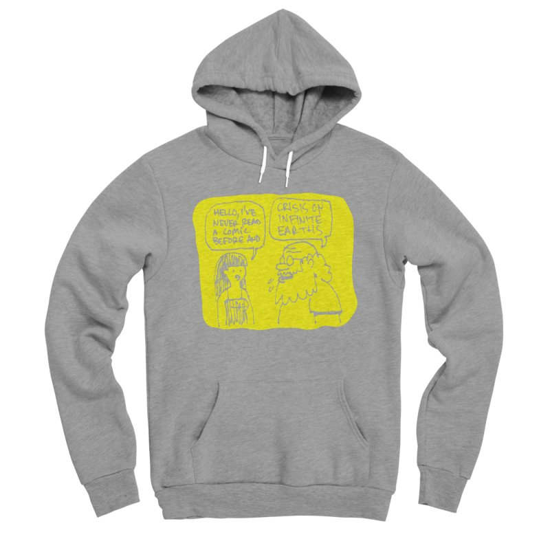 CRISIS ON INFINITE EARTHS #2 Men's Sponge Fleece Pullover Hoody by Wander Lane Threadless Shop