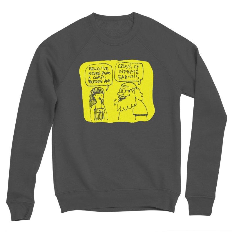 CRISIS ON INFINITE EARTHS #2 Men's Sponge Fleece Sweatshirt by Wander Lane Threadless Shop