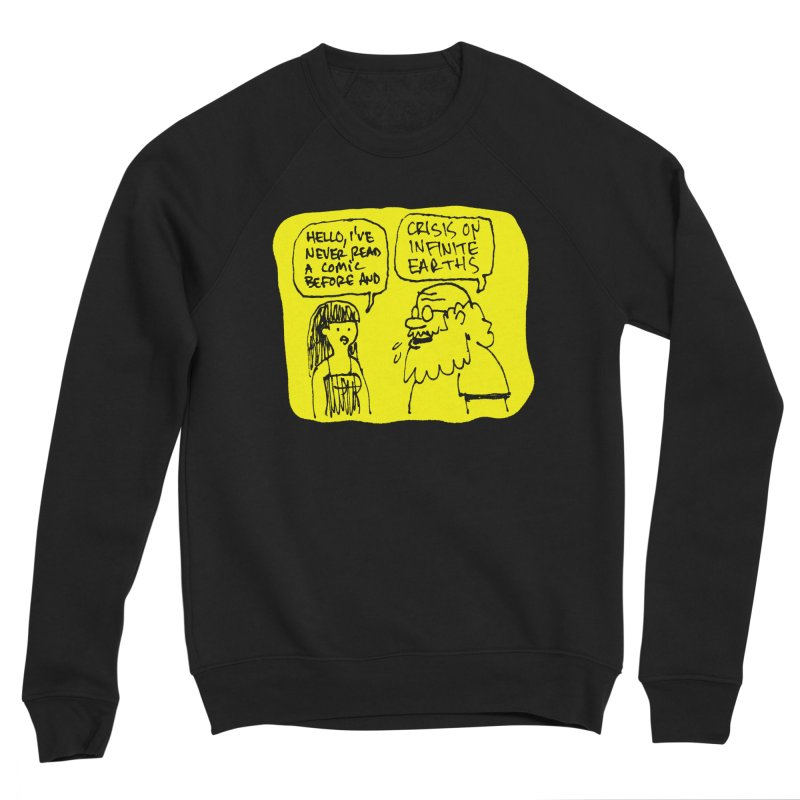 CRISIS ON INFINITE EARTHS #2 Men's Sponge Fleece Sweatshirt by Wander Lane Threadless Shop