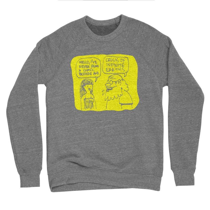 CRISIS ON INFINITE EARTHS #2 Women's Sponge Fleece Sweatshirt by Wander Lane Threadless Shop