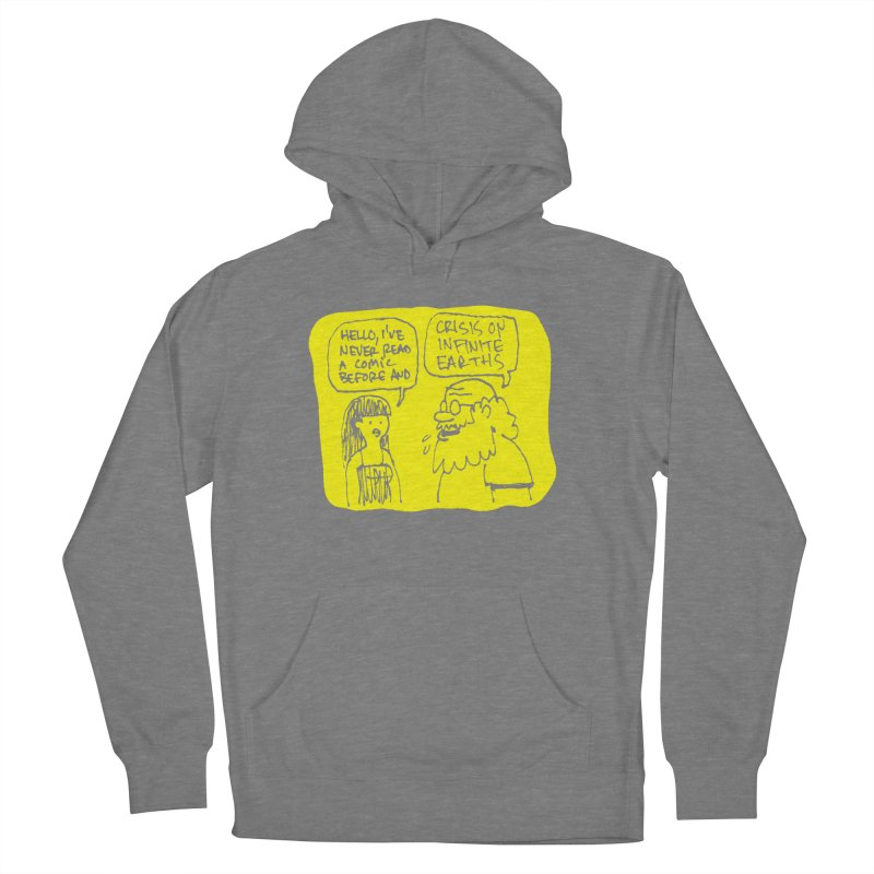 CRISIS ON INFINITE EARTHS #2 Women's French Terry Pullover Hoody by Wander Lane Threadless Shop