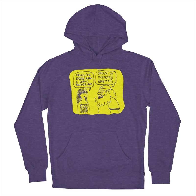 CRISIS ON INFINITE EARTHS #2 Men's French Terry Pullover Hoody by Wander Lane Threadless Shop