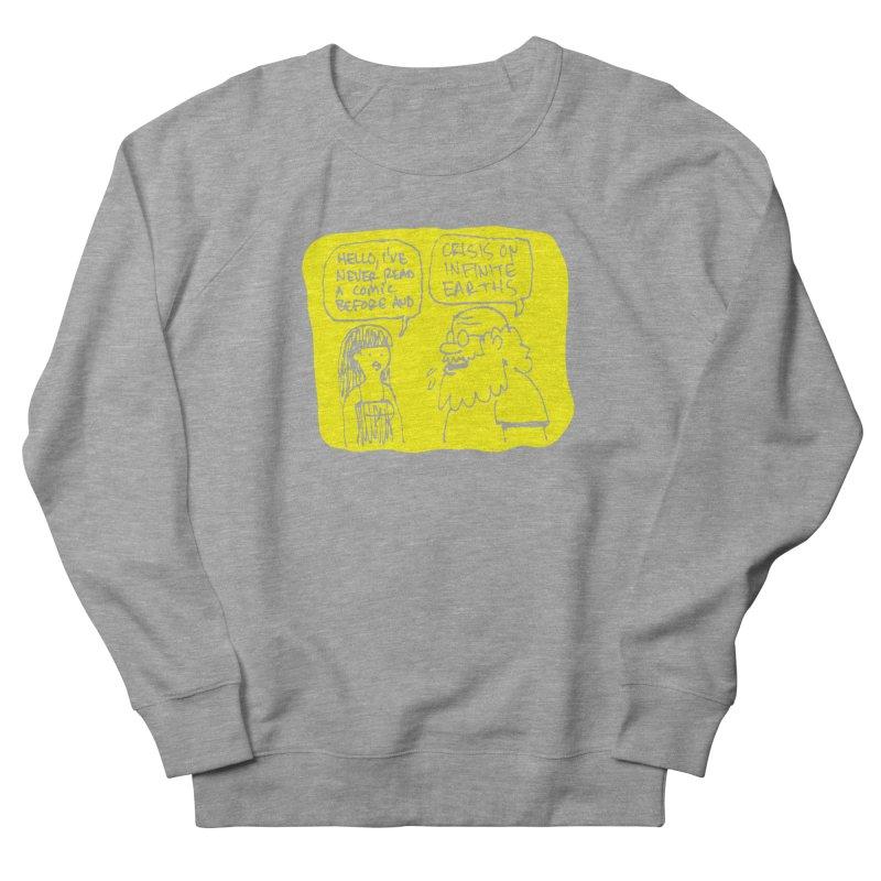 CRISIS ON INFINITE EARTHS #2 Women's French Terry Sweatshirt by Wander Lane Threadless Shop